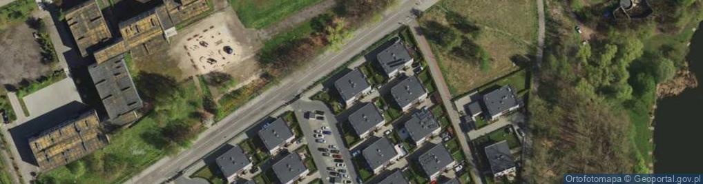 Zdjęcie satelitarne Sudecka ul.