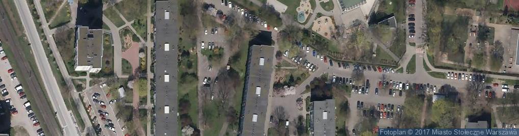 Zdjęcie satelitarne Suwalska ul.