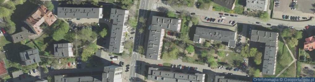 Zdjęcie satelitarne św. Mikołaja ul.
