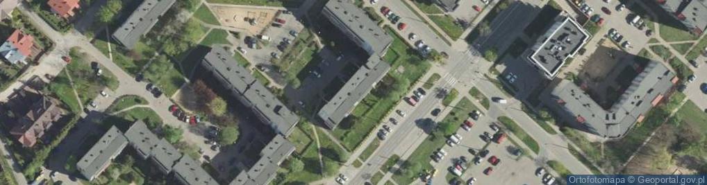 Zdjęcie satelitarne Swobodna ul.