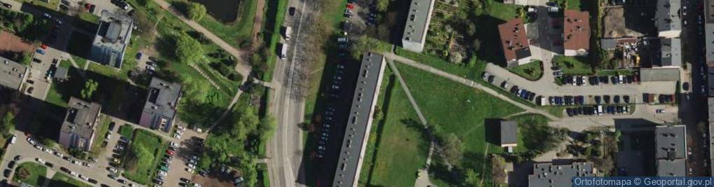 Zdjęcie satelitarne św. Kingi ul.