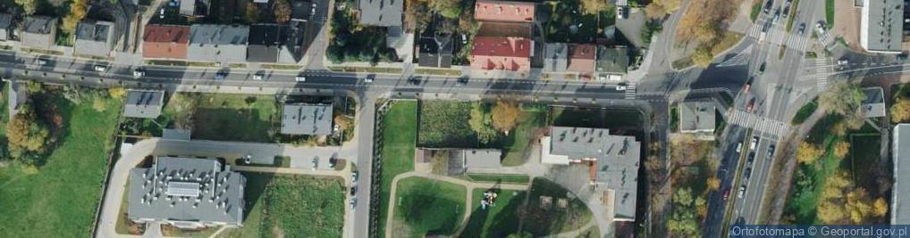 Zdjęcie satelitarne św. Kazimierza ul.