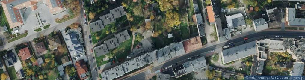 Zdjęcie satelitarne św. Marioli ul.