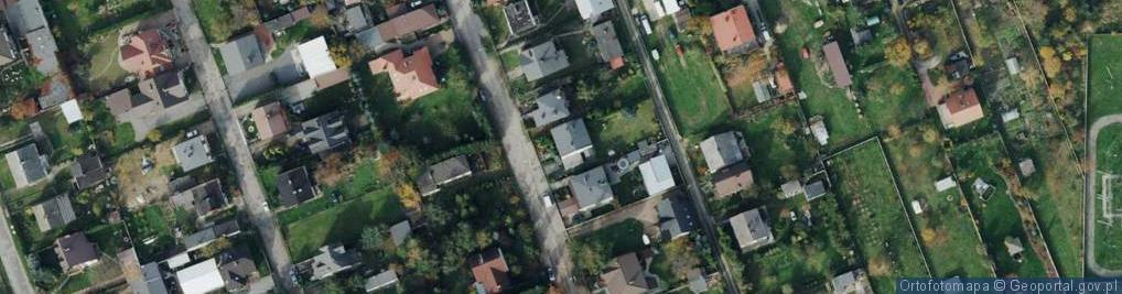Zdjęcie satelitarne św. Jozafata ul.