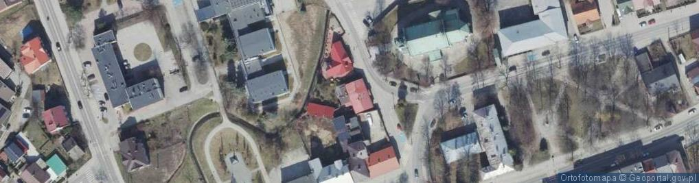 Zdjęcie satelitarne św. Jadwigi ul.