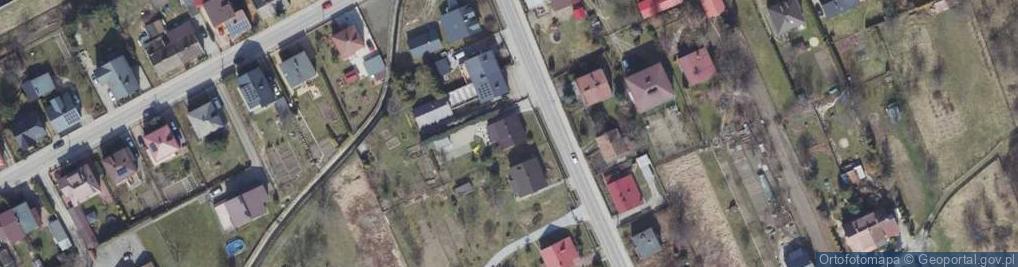 Zdjęcie satelitarne Świętosława ul.