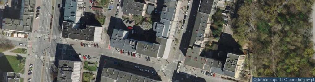 Zdjęcie satelitarne Świętojańska ul.