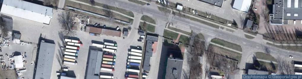 Zdjęcie satelitarne św. Teresy od Dzieciątka Jezus ul.