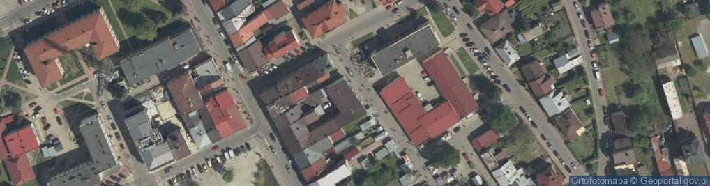Zdjęcie satelitarne św. Anny ul.