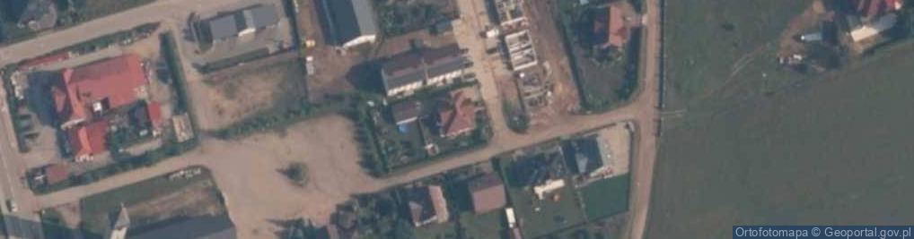 Zdjęcie satelitarne św. s. Faustyny ul.