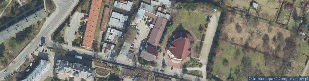 Zdjęcie satelitarne św. Brata Alberta ul.