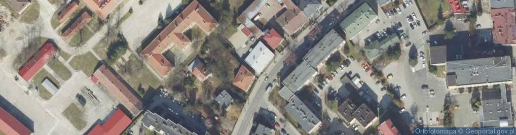 Zdjęcie satelitarne św. Jana Nepomucena ul.