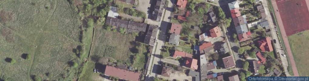 Zdjęcie satelitarne św. Wacława ul.