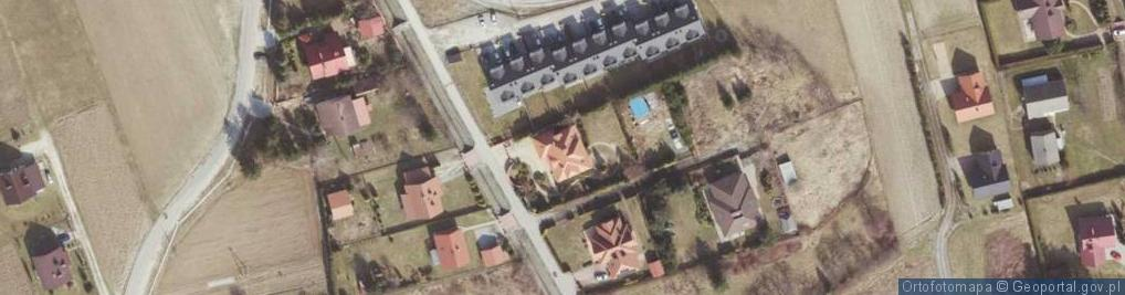 Zdjęcie satelitarne św. Antoniego ul.