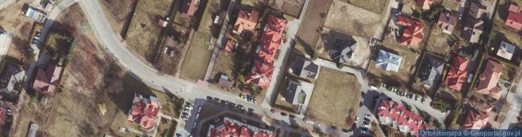 Zdjęcie satelitarne św. Jana z Dukli ul.