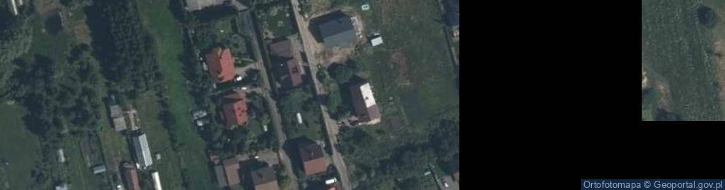 Zdjęcie satelitarne św. Rocha ul.