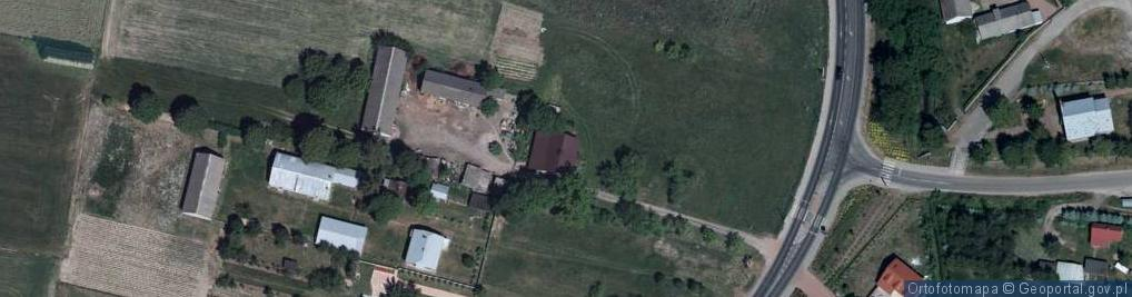 Zdjęcie satelitarne Świdry ul.