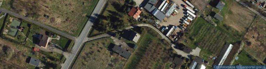 Zdjęcie satelitarne Świerkocin ul.