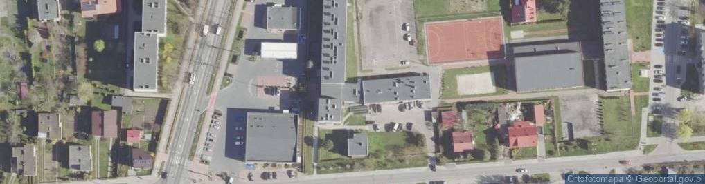 Zdjęcie satelitarne św. Barbary ul.