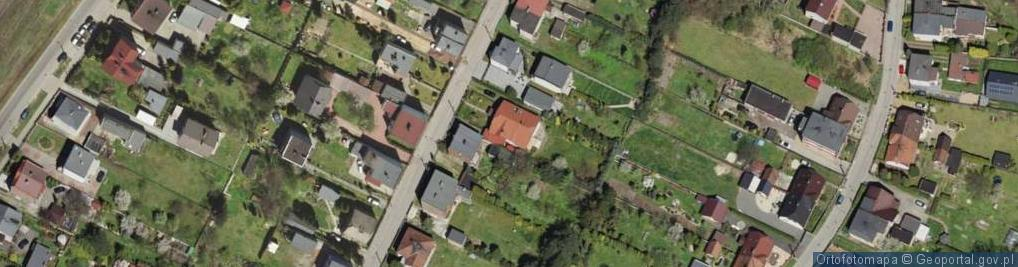 Zdjęcie satelitarne św. Wojciecha ul.
