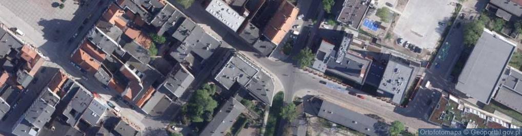 Zdjęcie satelitarne św. Jakuba ul.