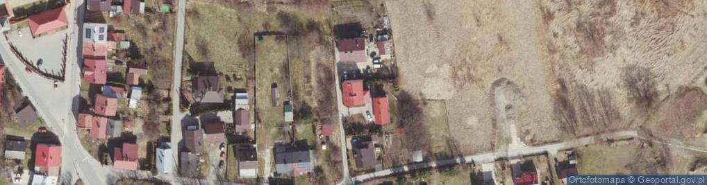 Zdjęcie satelitarne św. Katarzyny ul.