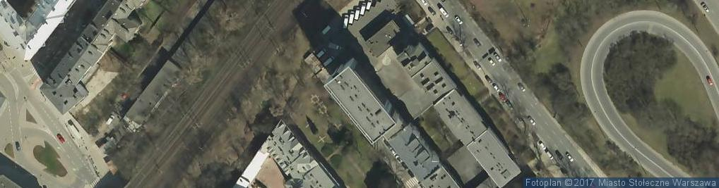 Zdjęcie satelitarne św. Franciszka Salezego ul.