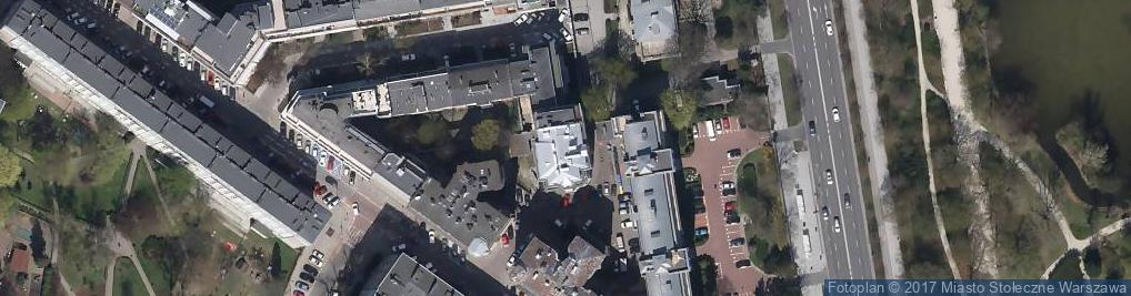Zdjęcie satelitarne św. Teresy ul.