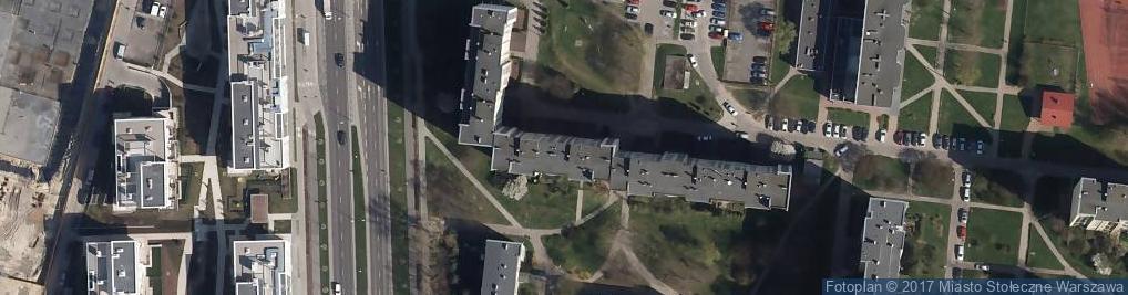 Zdjęcie satelitarne Świętochowskiego Aleksandra ul.
