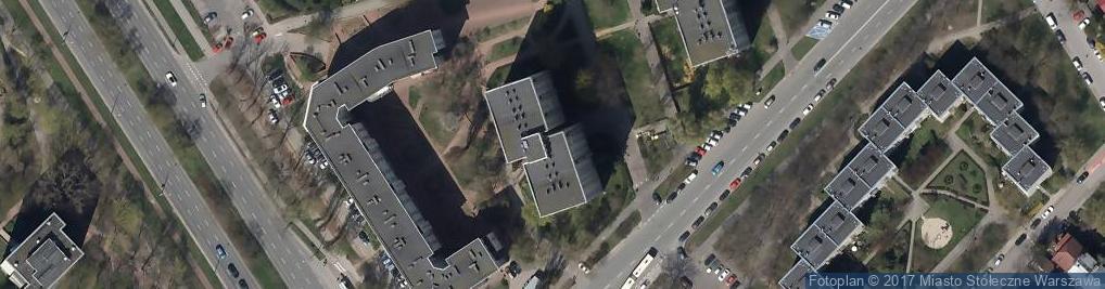 Zdjęcie satelitarne św. Bonifacego ul.