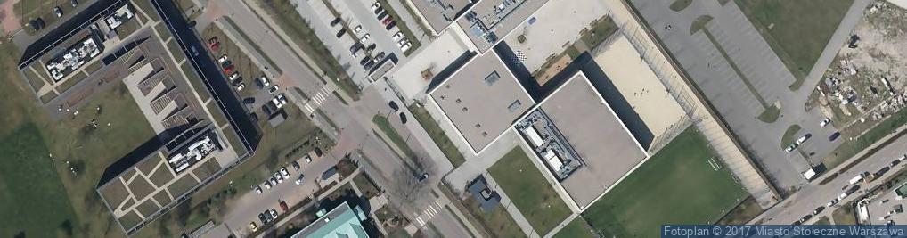 Zdjęcie satelitarne św. Urszuli Ledóchowskiej ul.