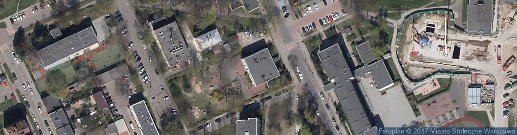 Zdjęcie satelitarne św. Hieronima ul.