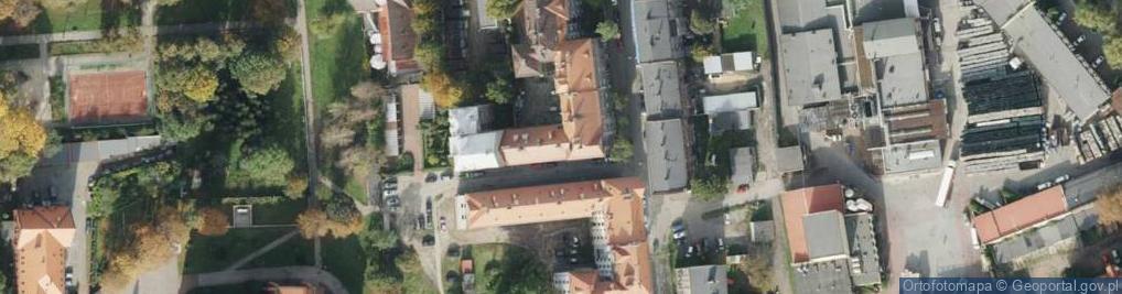 Zdjęcie satelitarne św. Jerzego ul.