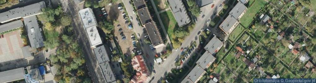 Zdjęcie satelitarne św. Stanisława Kostki ul.