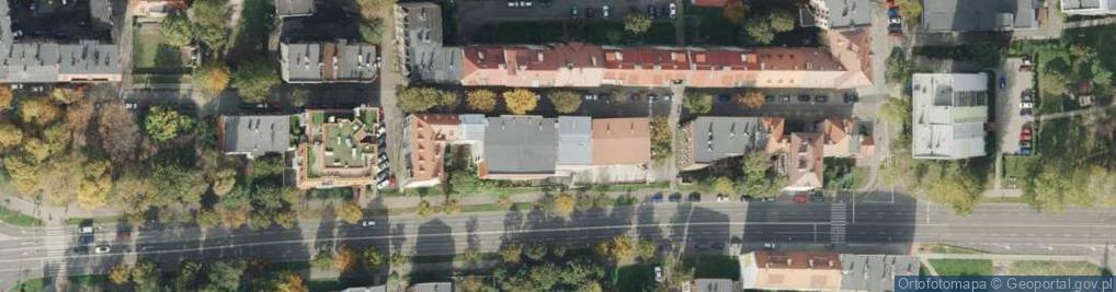 Zdjęcie satelitarne św. Urbana ul.