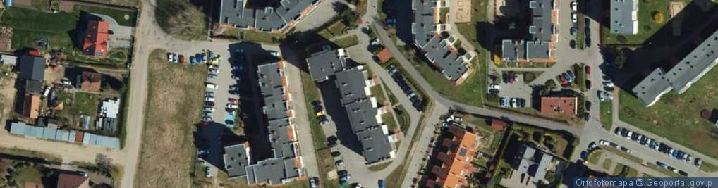 Zdjęcie satelitarne Sybiraków ul.