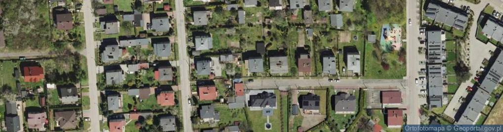 Zdjęcie satelitarne Sygnałów ul.