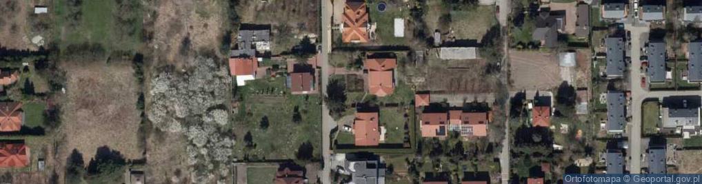 Zdjęcie satelitarne Synogarlicy ul.