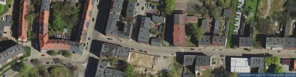 Zdjęcie satelitarne Szafranka Józefa, ks. ul.