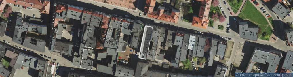 Zdjęcie satelitarne Szymanowskiego Karola ul.