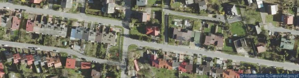 Zdjęcie satelitarne Szarotki ul.
