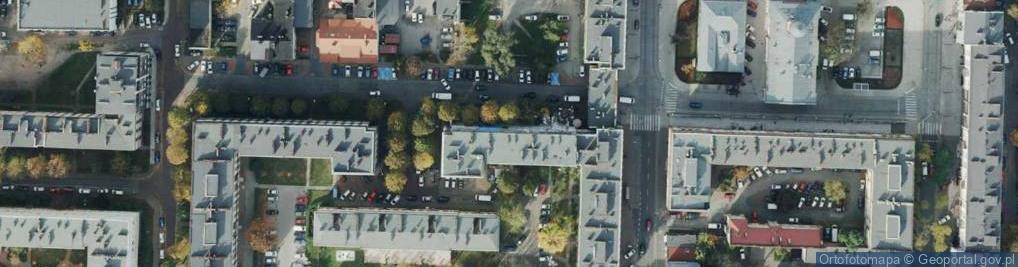 Zdjęcie satelitarne Szymanowskiego ul.