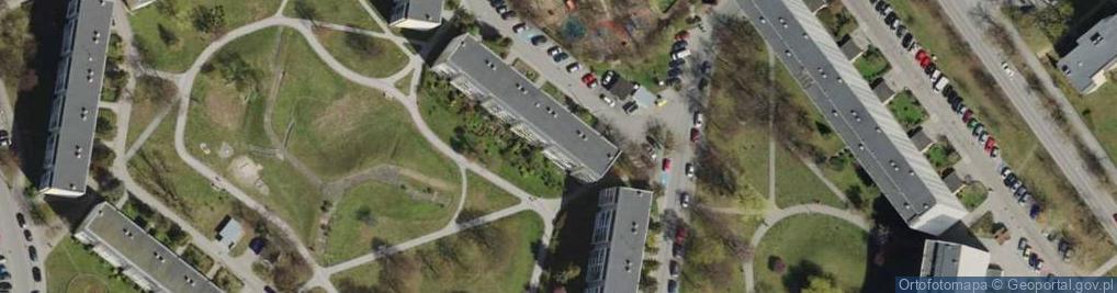 Zdjęcie satelitarne Szyprów ul.