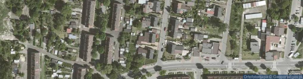 Zdjęcie satelitarne Szybowa ul.