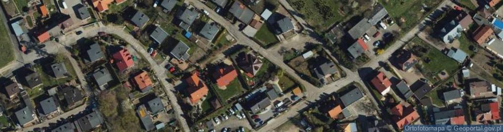 Zdjęcie satelitarne Sztumska ul.