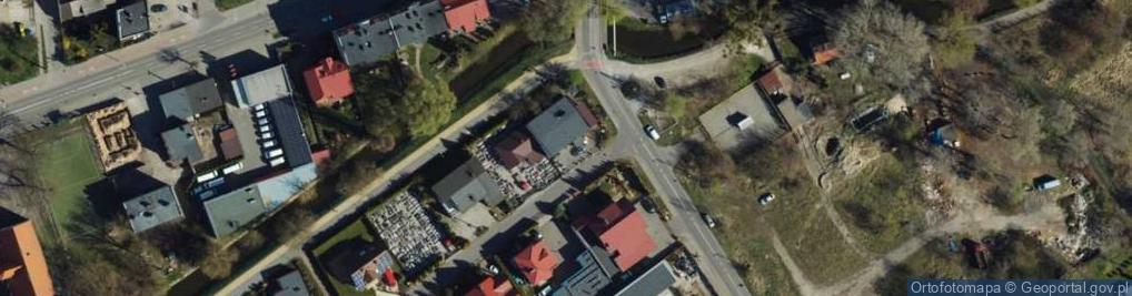 Zdjęcie satelitarne Szychowskiego Juliana ul.
