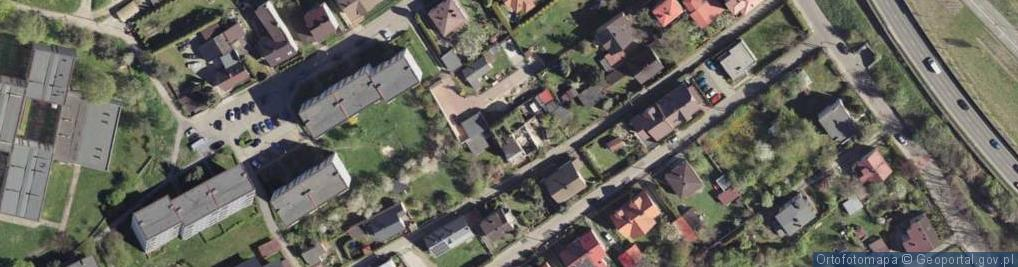 Zdjęcie satelitarne Szujskiego Józefa ul.