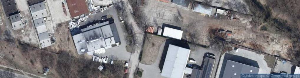 Zdjęcie satelitarne Szpinakowa ul.
