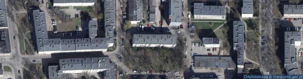 Zdjęcie satelitarne Szendzielarza Zygmunta, mjr. ul.