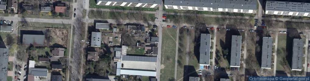 Zdjęcie satelitarne Szklarska ul.